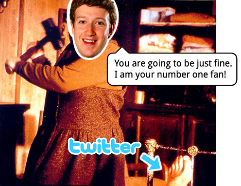 ...or maybe Zuck is like Kathy Bates in Misery?