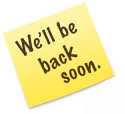 We'll be back soon.