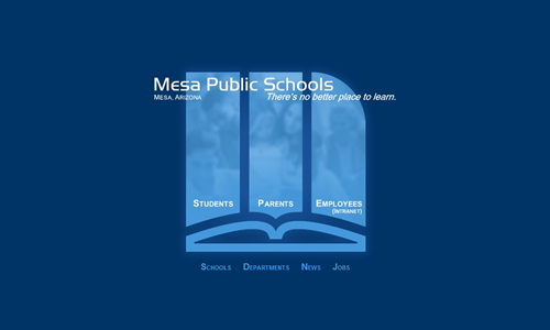 MPS Home Page circa 2009